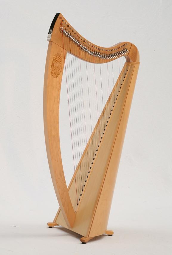 janet harbison - irish harp