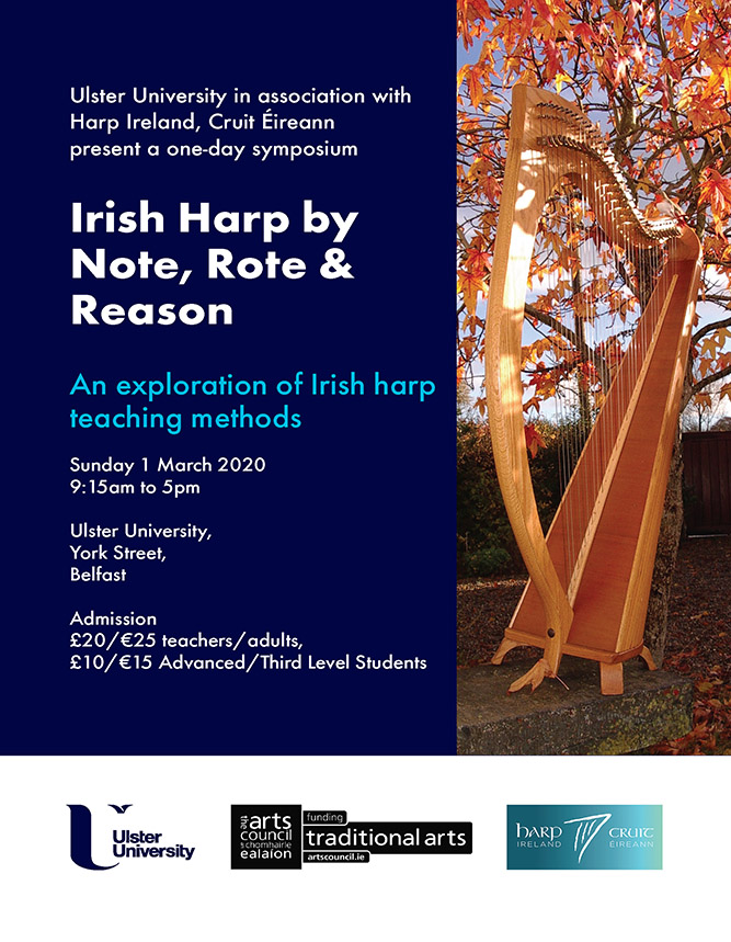 Irish Harp by Not Rote Reason 1