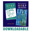 20 She Moved Through the Fair - Belfast Harp Orchestra Live in Downpatrick 1993
