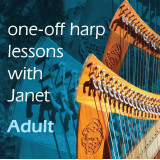 One-off Harp Lesson with Janet Harbison - Adult