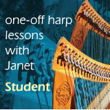 One-off Harp Lesson with Janet Harbison - Student