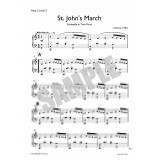 Saint John's March Ensemble - Part 2, Harp Level 2 (Low Intermediate)
