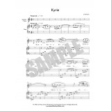 Kyrie Duet for Harp and Tenor
