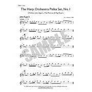 Harp Orchestra - Polka Set No 1 - Part 3 of 3